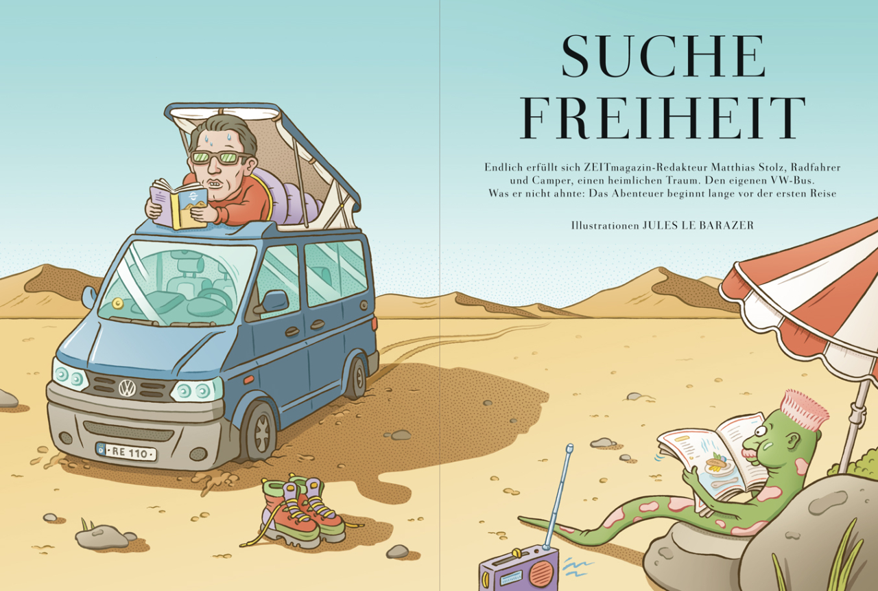 jules le barazer Zeit Magazin Mann